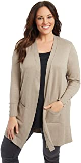 c43bc6049c0 89th + Madison Women s Comfy and Cozy Plus Size Duster Cardigan Sweater