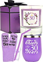 30th Birthday Gift for Woman, 30 Birthday Decorations for Her, 30th Birthday Gift Ideas, I'm 30, Best Turning 30 Year Old Birthday Gift Ideas for Her, 30th Birthday Cup, 30 and Fabulous