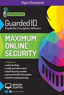 GuardedID Anti-Malware Keystroke Encryption Software   1 Year, 2 Devices   PC, Mac   Download [Online Code]