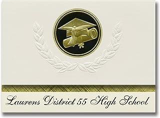 Signature Announcements Laurens District 55 High School (Laurens, SC) Graduation Announcements, Presidential style, Elite ...