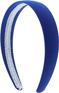 Royal Blue 1 Inch Fabric Covered Headband
