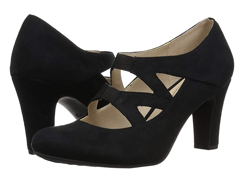 Vintage Style Shoes, Vintage Inspired Shoes LifeStride Carlin Black Womens Shoes $59.99 AT vintagedancer.com