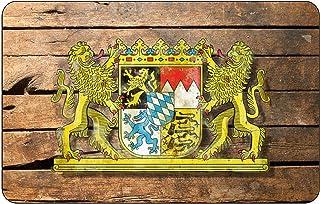Cadora Magnetschild Kühlschrankmagnet Wappen Bayern shabby chic abgenutzt used look