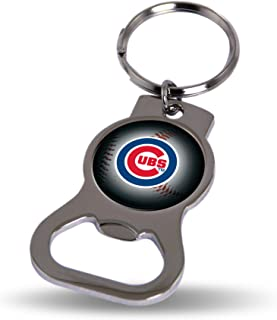Rico Industries Chicago Cubs Bottle Opener Keytag