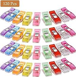POKIENE Clips Pinces Coutures 120Pcs, Solide Pince