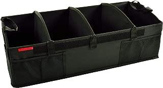 Picnic at Ascot Heavy Duty Rigid Base Trunk Organizer -70 LB Capacity - Adjustable Dividers - 30