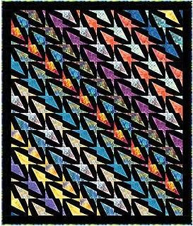 Hoffman Bali Batiks Modern Flight Quilt Kit 46 by 54 inches