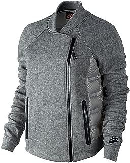 Women's Aeroloft Tech Fleece Moto Gray Size L