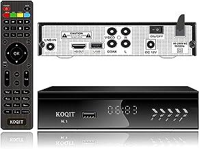 KOQIT FTA HD DVB S2 Digital Satellite TV Receiver Built-in Galaxy 19 97W UL Listed..