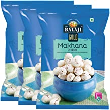 Lali Balaji Foxnut (Makhana) 300gm (Pack of 3, 100gm Each)