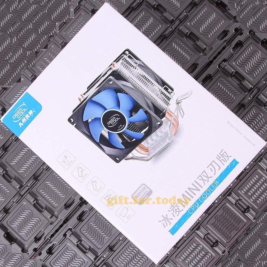 FidgetGear DEEP Cool Mini for Intel LGA115X AMD FM1 FM2 AM2 AM3 CPU Heatsink Cooler Fan