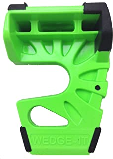 Wedge-It The Ultimate Door Stop - Lime Green 12 Pack