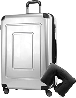 Happy Trolley Lugano Bagage cabine 76 centimeters 113 Argenté (Silber)