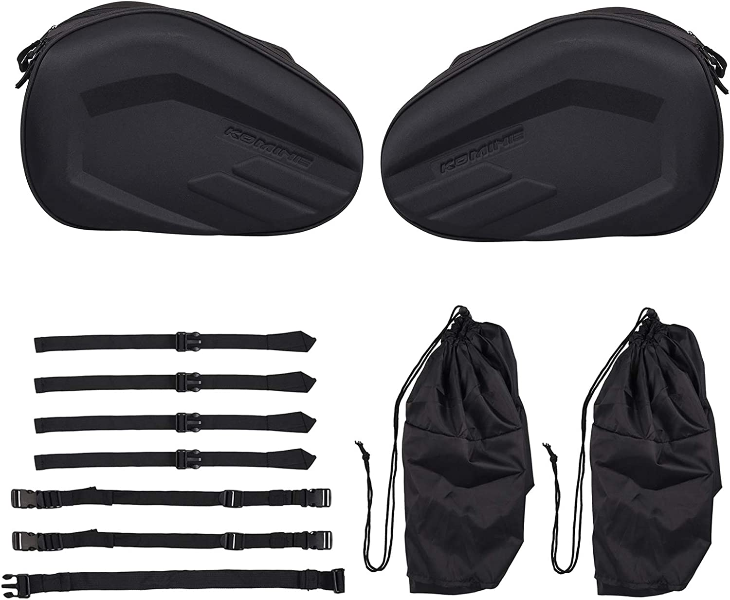 Justech 2PCs Universal Motorcycle Bag Max 40% OFF Max 81% OFF Side Saddle