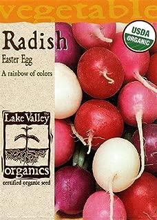 Organic Easter Egg Radish Seeds - 3 grams