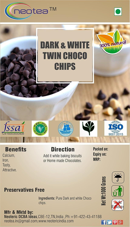Max 61% OFF Neotea Dark White Cheap SALE Start Twin Choco 300gm Chips