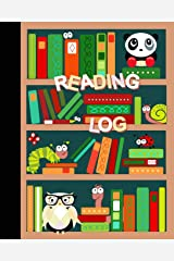 """Reading Log: Gifts for Young Book Lovers / Reading Journal [ Softback * Large (8"""" x 10"""") * Child-friendly Layout * 100 Spacious Record Pages & More... ] (Kids Reading Logs & Journals) Paperback"""