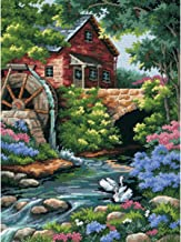 DIMENSIONS Old Mill Cottage Needlepoint Kit-12 Inch x16 Inch
