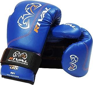 Rival Boxing Gloves-RB1 Ultra Bag Gloves (Blue, 10oz)