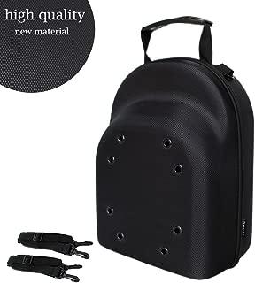 Galexbit Baseball Hat case Cap Carrier Case Holder for 6 Caps Hat Bag for Travel(Black)