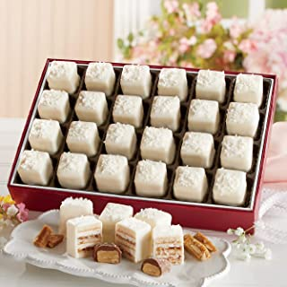 Salted Toffee Petits Fours from The Swiss Colony