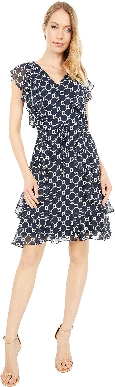 Tommy 2021 model Hilfiger Women's Dress Fit Outlet sale feature Flare