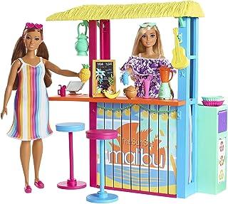 Barbie Loves The Ocean Beach Shack Playset with 18+...