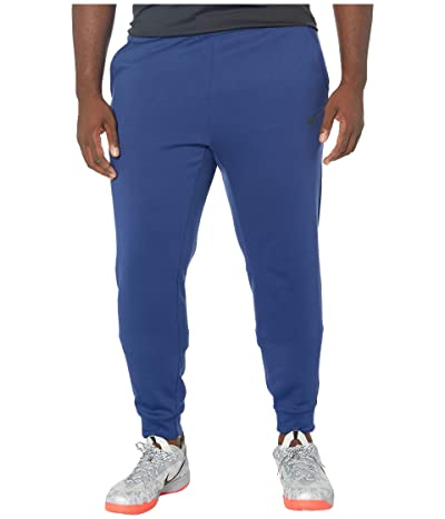 Nike Big Tall Therma Pants Taper (Blue Void/Black) Men