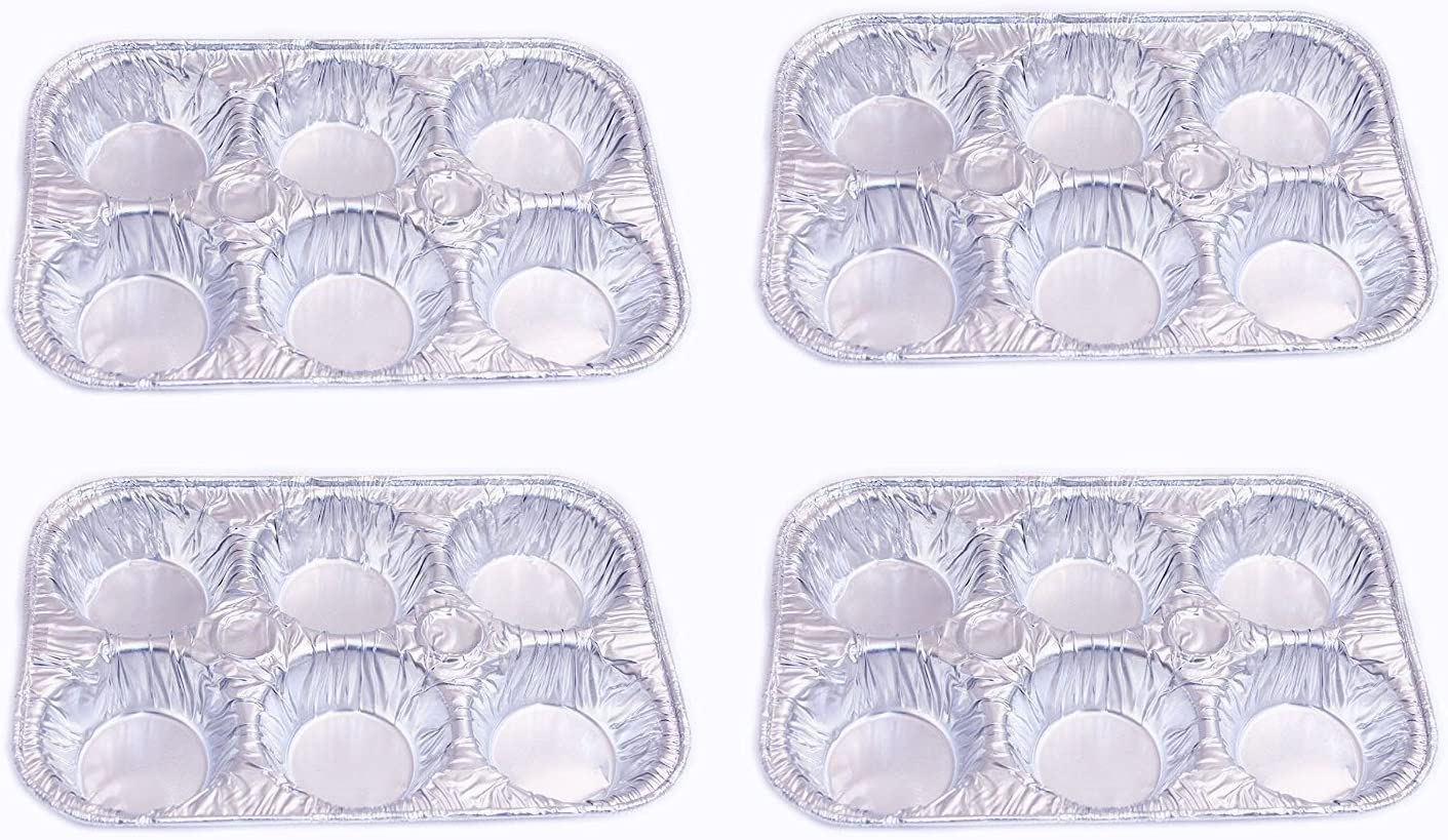 Set Virginia Beach Mall of 4 Muffin Pans Ca 6 Ranking TOP15 Disposable Aluminum Foil