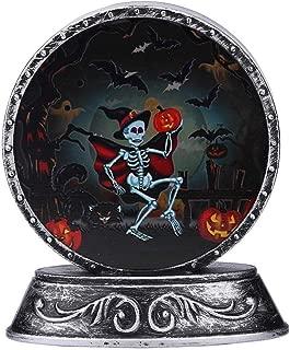 Dergo ☀Halloween Night Light,Halloween Pumpkin Bat Pattern Night Light Scene Layout Props Night Decoration (B)