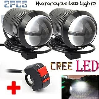 led headlight on motorcycle