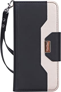 ProCase Pixel 3a Wallet Case, Flip Kickstand Case with Card Slots Mirror Wristlet, Folding Stand Protective Cover for Google Pixel 3a (2019 Release) -Black