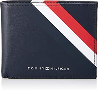 b128af1d7ec Tommy Hilfiger Bold Corporate Mini Cc Wallet, Men's Credit Card Case, Blue ( Corporate