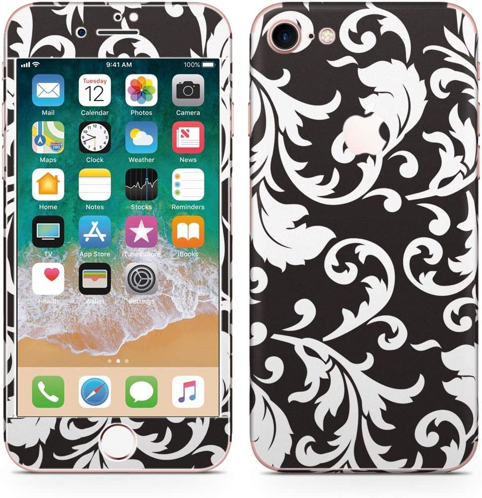 iPhone 7/iPhone8 Skin Sticker Full Body Coverage Vinyl Decal - Dustproof Anti-Scratch for Apple iPhone7/iPhone8 000511 Reef Flower Handle