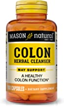 Mason Natural, Colon Herbal Cleanser, 100 Capsules (Pack of 3), Dietary Supplement Supports Digestive Health with Soluble ...