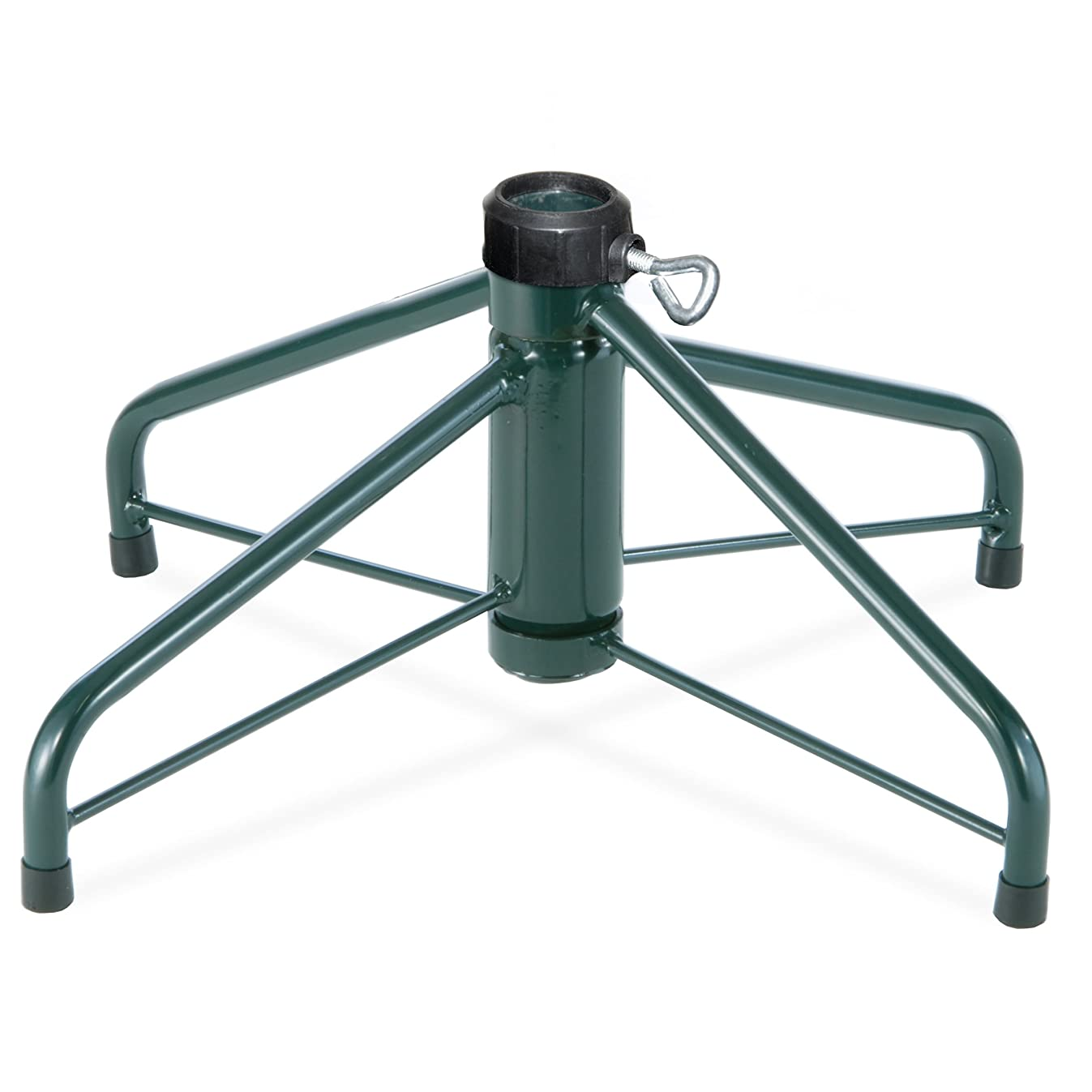 National Tree 24-Inch Folding Tree Stand for 6.5-Feet to 8-Feet Trees, Fits 1.25-Inch Pole (FTS-24-1)