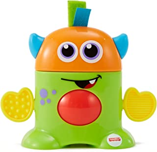 Fisher Price Mini Monster Tote Along Monsters - Green (Dispatched From UK)