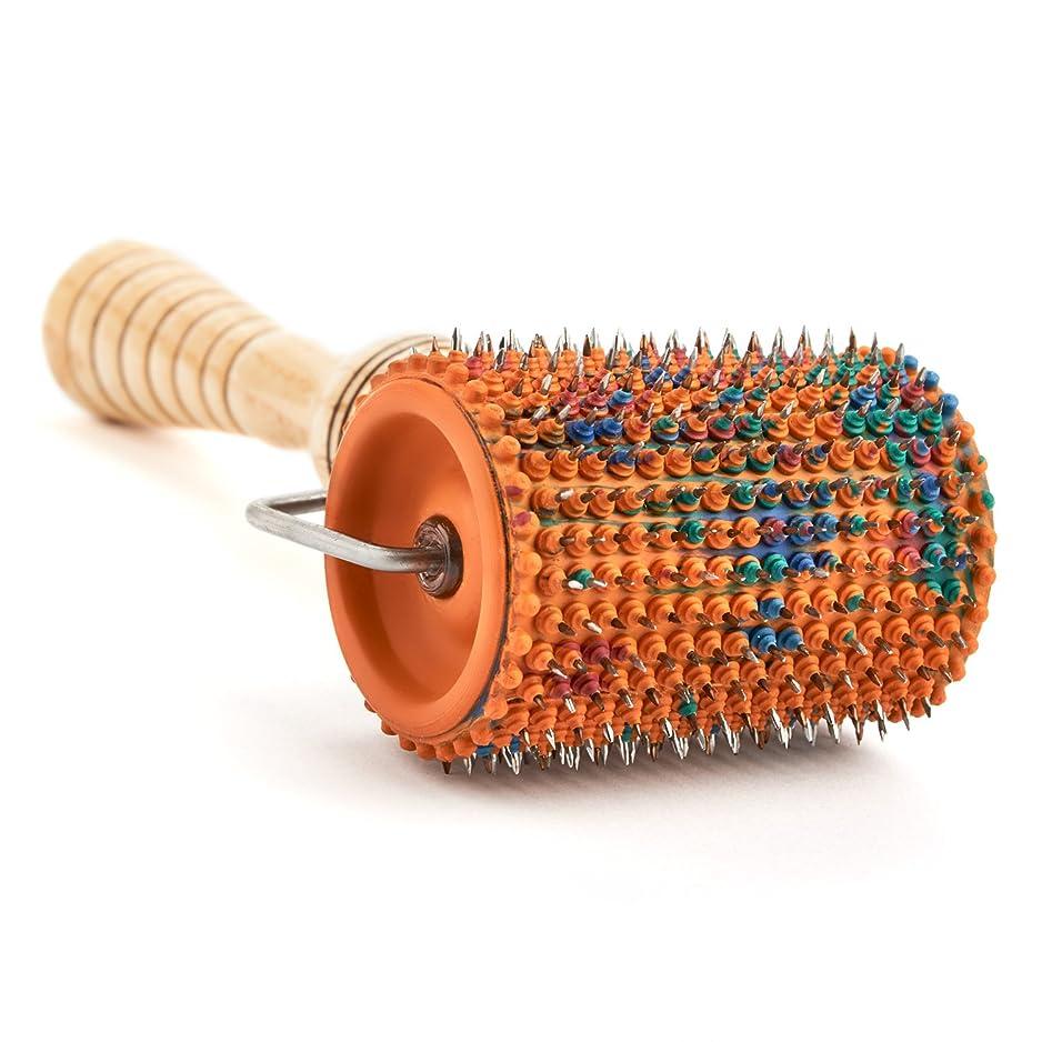 朝ごはん模索ブランド名Acupuncture for Body Massage - Acupressure Applicator Lyapko Roller UNIVERSAL-M (with rubber bushings) by Lyapko