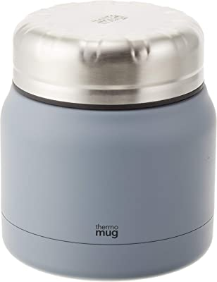 THERMO MUG(サーモマグ) TANK 保温ランチジャー スレートグレー TNK18-30 300ml