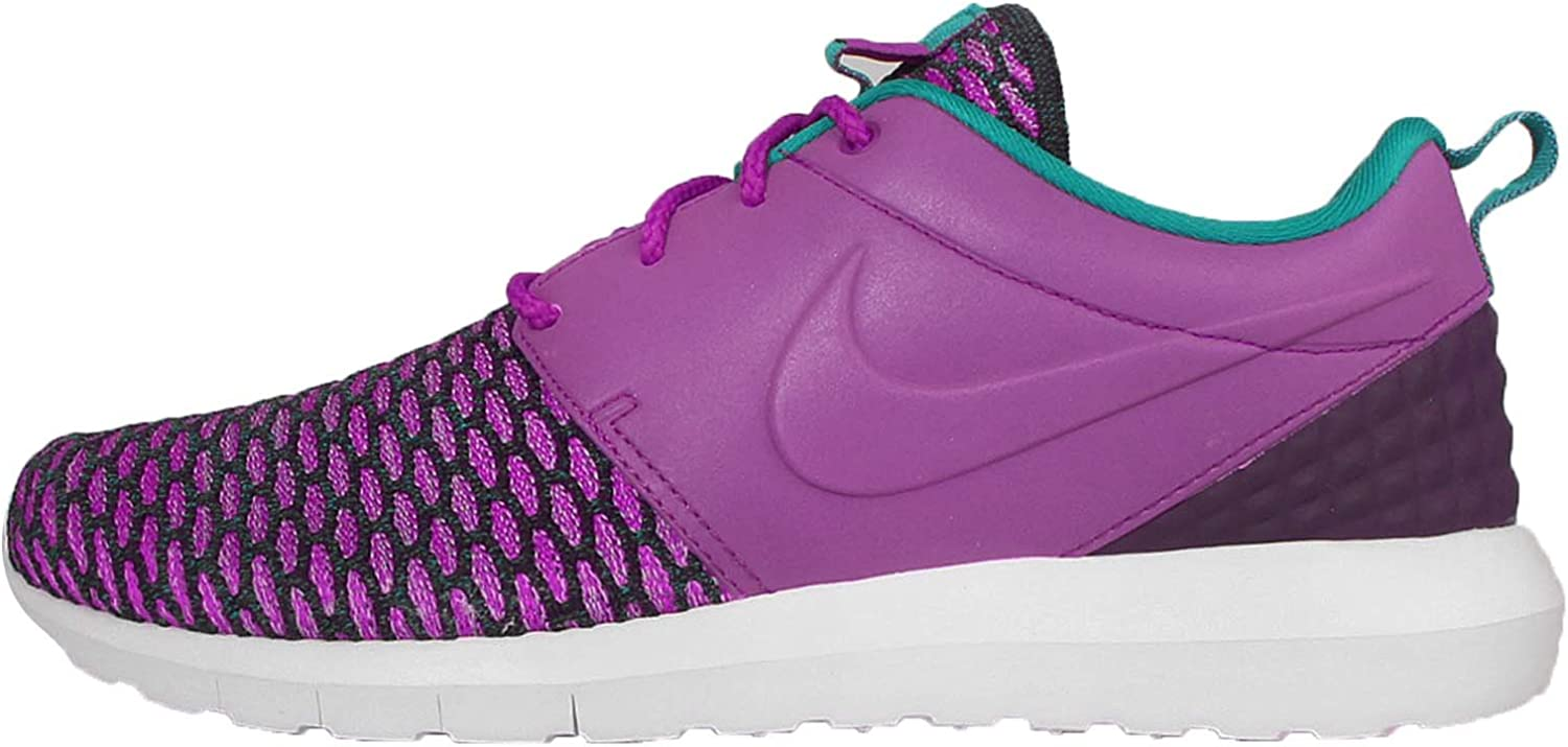 Nike Roshe Nm Flyknit PRM Bout Rond Toile Pourpre paniers