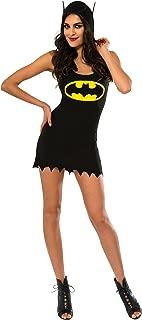 Rubie's 880427-S Women's DC Superheroes Batgirl Hooded Tank Dress, Small, Multicolor