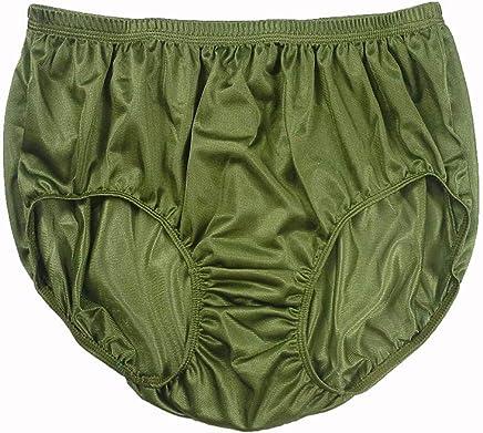 71a5bf2be2 JR10 Olive Green New Lingerie for Women Half Briefs Panties Sheer Nylon  Panty Mens Underwear Women