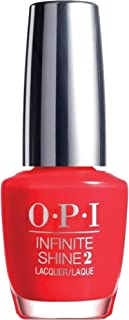 OPI Infinite Shine Nail Polish, Unrepentantly Red, 15ml