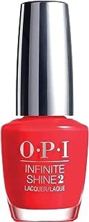 OPI Infinite Shine Nail Polish, Unrepentantly Red, 15ml