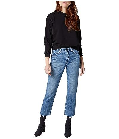 Jag Jeans Stella High-Rise Straight Leg Jeans (Hudson Blue) Women