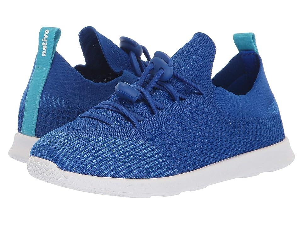 Native Kids Shoes AP Mercury Liteknit Toggle (Little Kid/Big Kid) (Victoria Blue/Shell White) Kids Shoes