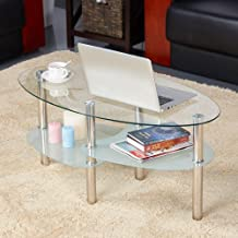 Best tea table with glass Reviews