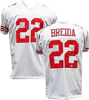 9ea2a097b Authentic Matt Breida Autographed Signed White Football Jersey (TSE COA) - San  Francisco 49ers