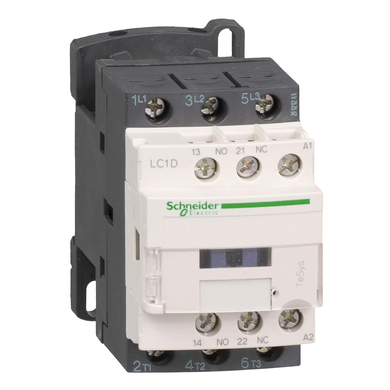 Schneider Electric LC1D12P7 TeSys D Contactor, 3P, AC-3, <=440V, 12A, Bobina 230VCA, 86mm x 45mm x 77mm