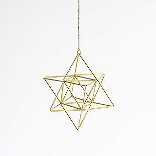 Colgante estrella geometría sagrada, merkaba, huevo de la vida, decoración yoga zen, himmeli